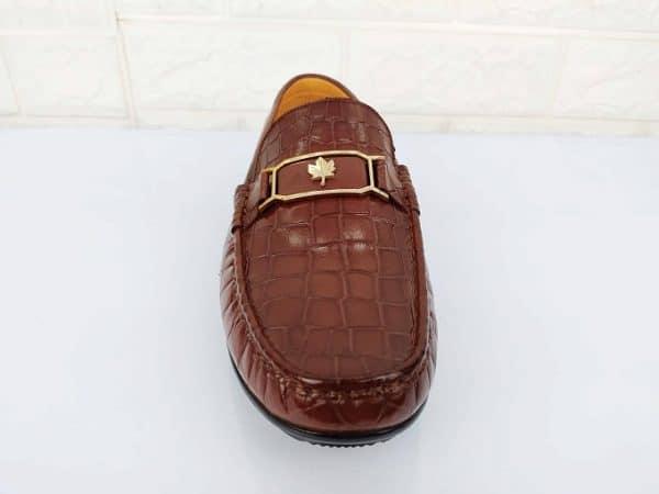Giày da nâu